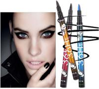 водостойкий гель оптовых-YANQINA Fashion макияж водонепроницаемый гель 36h карандаш для глаз Водостойкий Легко носить Волшебный карандаш для глаз