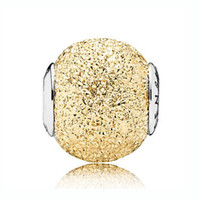 Wholesale Engraved 925 - Top Quality 925 Sterling Silver Bead Charm SENSITIVITY Gold And Silver Engraving Beads Fit Pandora ESSENCE Bracelet Diy Jewelry