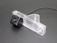 lumières de montagne achat en gros de-Caméra de stationnement de voiture / OEM de lumière de plaque d'immatriculation CCD RCA NTST HD / caméra de vue arrière pour Toyota HighLander