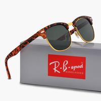 ingrosso occhiali da sole brandy per occhi gatto-Occhiali da sole polarizzati di marca per gli uomini delle donne degli uomini di alta qualità Occhiali da sole polaroid di vetro di sport di alta qualità con gli accessori pieni