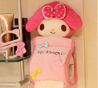 Wholesale Toilet Paper Holder Container - Wholesale- Sweet Melody Rabbit 31CM Home & Bathroom Tissue BAG Case Box Container , Roll Paper Napkin Papers Holder Case Pouch