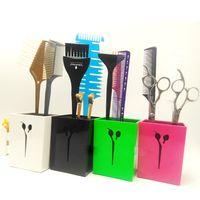 Wholesale U Socket - Wholesale- Professional Hair Accessories Bag Salon Tools Hair Scissor Holder U-088 In Fashion Design, Hair Scissor Socket Pouplar For Salon