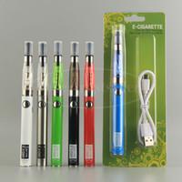 Wholesale Ego Vapes - eGo CE4 CE5 Atomizer eCig Vaporizer Blister Kits 510 Tread UGO V2 Battery 650 900 mah Vapes Pen China Direct