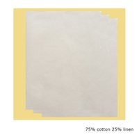 Wholesale Laser Jet Printers - 200 pic per lot 75 cotton 25linen Copy Paper For Laser Ink Jet Printer Size A4 Paper 8.5in*11in