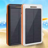 Wholesale Solar Desk - Desk lamp solar power bank 20000mah battery externa charger powerbank Digital display for Electronic products
