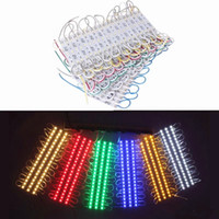 Wholesale rohs sign - RGB Led Pixel Modules Waterproof 12V SMD 5050 3 Leds 0.72W 80lm Led Modules Sign Led Backlights For Channel Letters ..