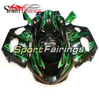 Carenados completos ABS para Yamaha YZF600R Thundercat 97 98 99 00 01 02 03 04 05 06 07 1997 - 2007 Injection Plastic Body Kits Black Green Flame