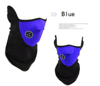 Wholesale Bike Mask Pollution - Winter Cyling Half Face Mask Bicycle Filter Ski Motocycle Cover Neck Protector Guard Scarf Bandana Bike Cold Anti Pollution
