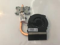 cpu fan hp pavilion venda por atacado-NOVA geladeira para HP Pavilion G4 G6 G7 G4-1000 G6-1000 G7-1000 CPU dissipador de calor com ventilador 643258-001 641140-001 4GR13HSTP80