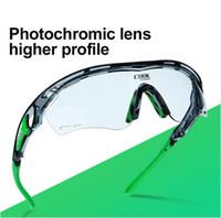 Wholesale Cycling Glasses Myopia - Photochromic Polarized Cycling Glasses Bike Eyewear Sports Sunglasses MTB Bicycle Goggles Riding Fishing Myopia Frame