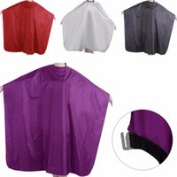 Wholesale Hair Salon Gowns - 1PC Pro Adult Waterproof Salon Hair Cut Hairdressing Barbers Cape Gown Cloth