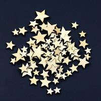 ingrosso la camera da letto stabilisce il trasporto libero-1000pcs misti a forma di stella bottoni in legno fai da te scrapbook craft abbigliamento decor button regalo di natale TY2157