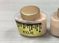 Wholesale Magic Banana - Kylie Face Powder Limited Magic Kylie Jenner Cosmetic Banana Loose Powder Concealer Foundation Powder Makeup 120pcs lot
