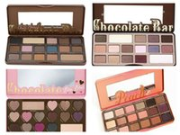 Wholesale Eyeshadow Professional - 1pcs Sweet peach Makeup Eye Shadow Too Faced Chocolate Bar Semi-sweet 16 Colors Professional Eyeshadow Palette 24hours deliver