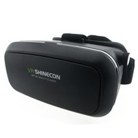 Wholesale Mobile Theater Glasses - VR Shinecon VR Virtual Reality 3D Glasses Cardboard Headmount Mobile 3D Movie Games Private Theater for 3.5-6 Inch Smartphones
