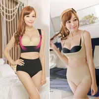Wholesale Cami Shapewear Medium - Wholesale- Hot Body Shapers Seamless Open-Bust Cami Shapping Tops Bust Lifts Up Bra Vests Enhancer Shapewear Corsets