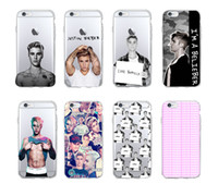 Wholesale Case Iphone 4s Justin - Muscle Singer Justin Bieber Sexy TPU Phone case cover for Apple iPhone 4 4S 5 5C SE 6 6S Samsung S5 S6
