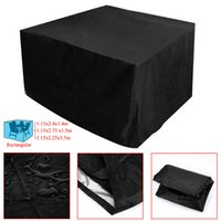 Wholesale Table Covers Cheap Wholesale - Wholesale- High Quality Cheap Price 3 Different Size Rect BBQ Outdoor Garden Patio Table Desk Chair Furniture Cover Waterproof