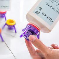 Wholesale Gel Bottle Caps - Flip It Inverted Upside Down Bottle Cap Multi Function Stand Leakproof Lids Shower Gel Stand Bottle Cap Economy Cap Kit OOA2294