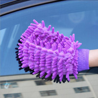 Wholesale Wholesale Car Wash Supplies - Car Washing Gloves It Will Take A Towel Household Dust Cloth Clean Tool Mix Color Cleaning Supplies