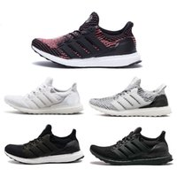 Wholesale 2017 Ultra Boost TripleB black White Running Shoes Men Women sports shoes Ultraboost Triple Black Shoes Casual Hot Sale