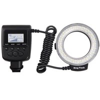 Wholesale New RF E Macro LED Ring Flash Light For Sony A900 A850 A560 A77 A65 not HDMI