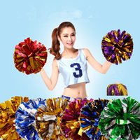 Wholesale Wholesale Athletic Supplies - wholesale 20pcs lot 2017new athletic outdoor accs game pompoms cheering pompom high quality cheerleading supplies