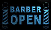 Wholesale Barber Led - LS199-b Open Barber LED Neon Light Sign.jpg