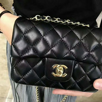 Wholesale Ladies High Quality Wallets - Hot Brand Women Leather gg Handbags Vintage High Quality Women Metal Gold Chians Shoulder Bags Wallets Crosbody Bags lady cc MINI BAG @1115