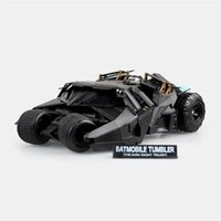 Wholesale Batman Batmobile Tumbler Figure - Lilytoyfirm Boxed Batman Batmobile Tumbler Revoltech No.043 The Dark Knight PVC Action Figure Resin Collection Model Doll Toy Gift Cosplay