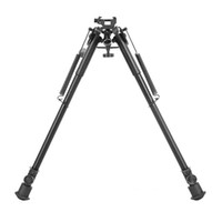 Wholesale Butterfly Rotation - Tactical 13-21 Inch Butterfly Tripod Rotation Lock Metal Bipod with 21.2mm Quick Detachable Mount Adapter for Shooting CL17-0037