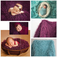 Newborn Photography Props Basket 2017 Moda Baby Coveret Solid Photo Props Contexto Background Newborn Photography Props