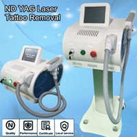 Wholesale Pro Q Switch Yag Laser - Q switch laser machine with yag laser source tattoo removal ipl pro permanent laser equipment free shipment
