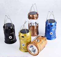 UK super bright led camping lantern - Super Bright Solar energy Portable Camping Lantern Outdoor Light Hiking Camping Hanging Flashlight Camping Lanter Free Shipping