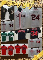 Wholesale 2016 New Arrival Boston Redsox Baseball Jerseys David Price Dustin Pedroia David Ortiz White Red Grey blue MLB Jersey