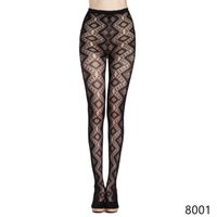 Wholesale Thickening Pantyhose - New Fashion Women Mesh Fishnet Pantyhose Good Quality Black Thicken Warm Stockings Slim Female Hollow Out Net Pattern Jacquard Tights