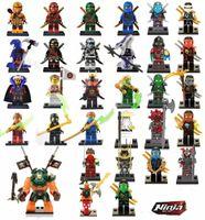 Wholesale Build Wooden - 31pcs Ninjago figures marvel super heroes minitoy building blocks figures bricks toys action figure