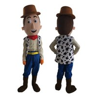 Wholesale Cowboy Themes - Hot Sale Woody The Cowboy mascot costume custom fancy costume anime mascot theme fancy dress carnival costume