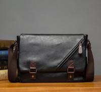 Wholesale Shoulder Bag Man Crossbody - Factory sales of brand men's bag Korean version of the new color bangalor college men shoulder wind flip shoes Crossbody Bag Color Trend