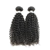 Wholesale virgin curly hair bundle pcs for sale - Group buy 2 Brazilian Jerry Curly Virgin Hair Weave Bundles inch Natural Brown Color Peruvian Malaysian Indian Mongolian Human Hair