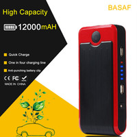 Wholesale Wholesales Jump Starter - 12000mAh Portable Car Battery Mini Jump Starter Emergency Charger Power bank inverter 400A up to3.0L Gas
