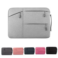 13 polegadas, laptop, luva, zíper, caso, nylon, resistente à água, Carry Handheld Bag Pouch slipcase para Macbook Mac Air / Pro / Retina PC