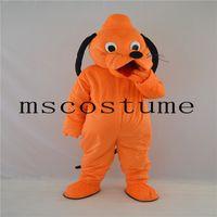 Wholesale New Pluto Mascot Costume - 2017 new Pluto dog mascot costume adult size cartoon walking animal cartoon costume party celebration