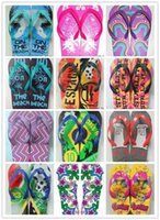 Wholesale Wholesale Flip Flops Buckle - Slippers Fashion Summer Flip Flops Flat Sandals 2017 House Shoes Beach Shower Pool flip flop sandals shoes slip on beach wear surf size