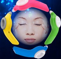 Wholesale Magnetic Therapy Eye Massager - Fashion New Eye Massager Nearsightedness Prevention Electric Massage Apparatus Massaging Relax Massor rose red Blue 14.9 x 8.7cm