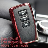Wholesale Rc Cases - Kongfu Bee Car styling Key Cover Case For Lexus NX GS RX IS ES GX LX RC 200 250 350 LS 450H 300H Auto Accessories