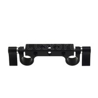 """Wholesale Dslr Rod Clamp - Super Light weight 15mm Rail Rod Clamp with 1 4"""" Standard Thread for Camera Cage 15mm Rod Support Rail System DSLR Camera Rig - 202"""