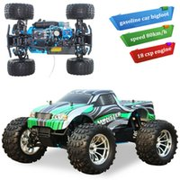 Wholesale Nitro Power Truck - 2016 Direct Selling Oyuncak Train Cars Pixar Bigfoot Rc Car 1:10 High Speed Remote Control Gas Cars 4wd Truck Powered Off-road Buggy Nitro
