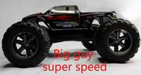 Wholesale High Speed Cars - Wholesale- 1pcs lot 40kmh+ New 1 12 scale Electric rc truck 2.4Ghz 2WD high speed remote controlled car all included ready to run