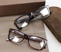Wholesale Square Optical Frames - 2016 Hot Eyeglasses Optical Glasses Frame Spectacles TOM 5176 Brand Myopia Frame Fashion Retro Italy Brand Optical Frame with Original Case
